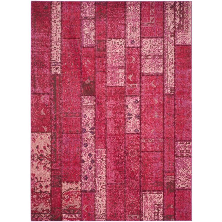 Safavieh Monaco Adum Pink Indoor Area Rug (Common: 7 x 9; Actual: 6.7-ft W x 9.2-ft L)