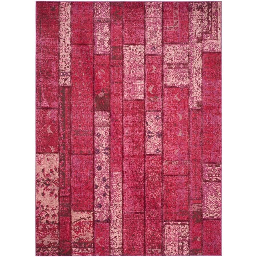 Safavieh Monaco Adum Pink/Multi Rectangular Indoor Machine-made Area Rug (Common: 9 x 12; Actual: 9-ft W x 12-ft L)