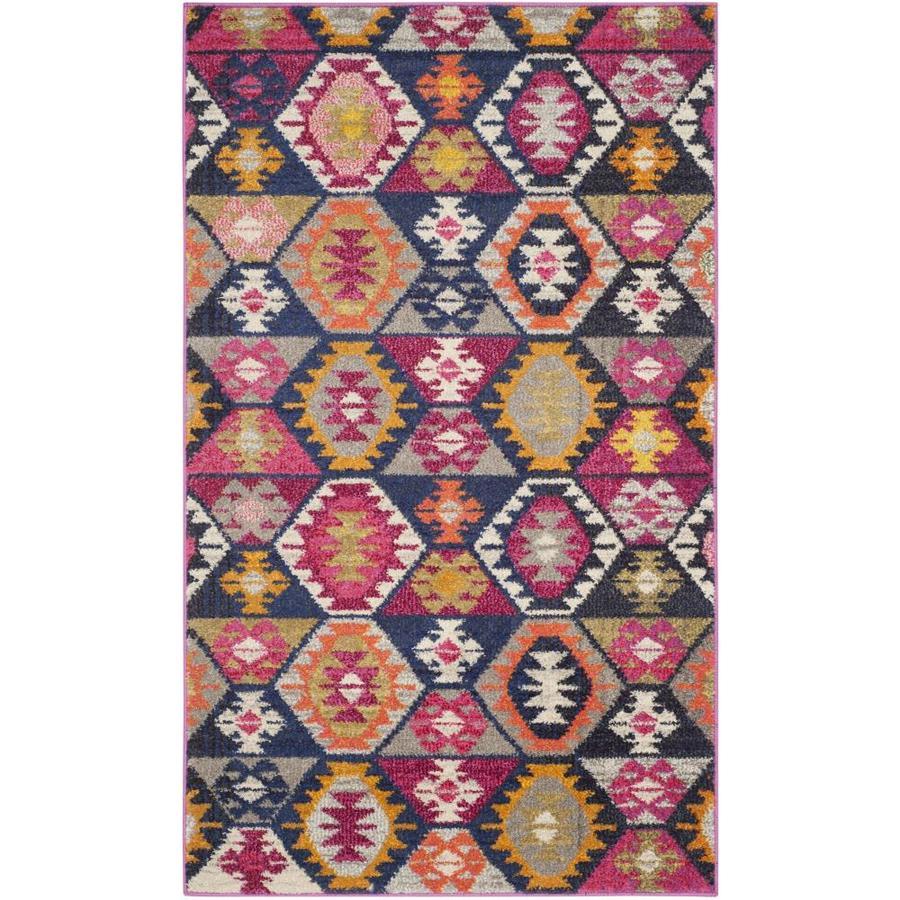 Safavieh Monaco Cheyenne Indoor Throw Rug (Common: 3 x 5; Actual: 3-ft W x 5-ft L)