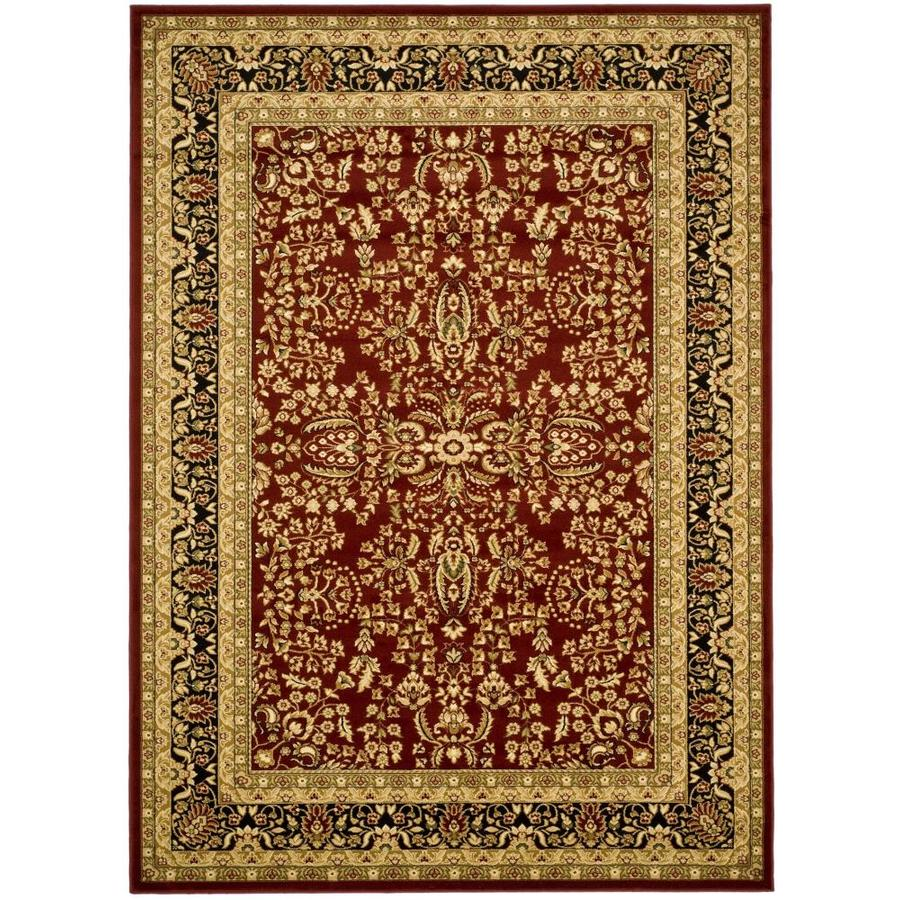 Safavieh Lyndhurst Isphahan Red/Black Indoor Oriental Area Rug (Common: 12 x 18; Actual: 12-ft W x 18-ft L)