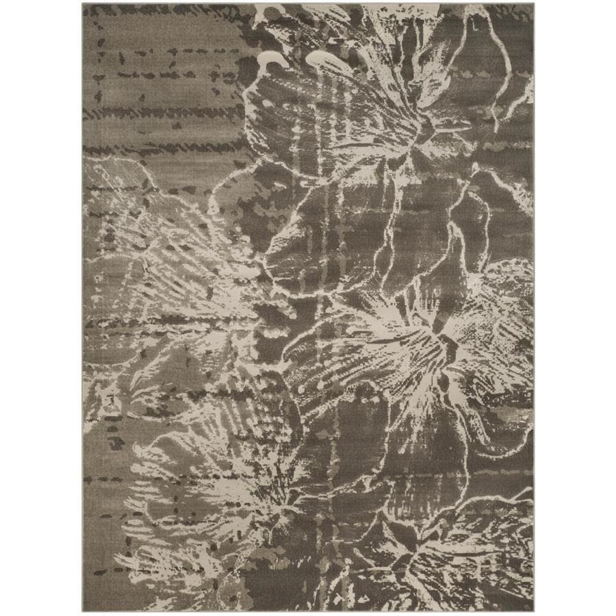 Safavieh Porcello Viansa Gray/Dark Gray Indoor Nature Area Rug (Common: 8 x 11; Actual: 8.2-ft W x 11-ft L)