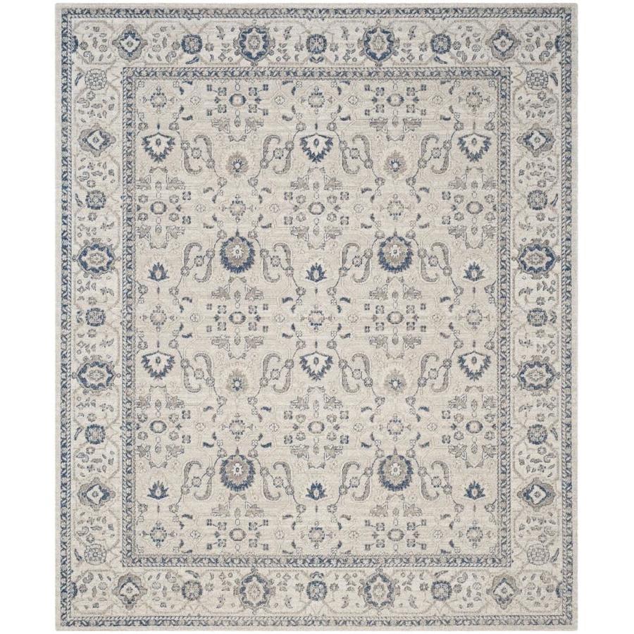 Safavieh Patina Mimue Light Gray Ivory Rectangular Indoor