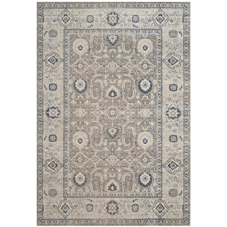 Safavieh Patina Mimue Taupe Ivory Rectangular Indoor