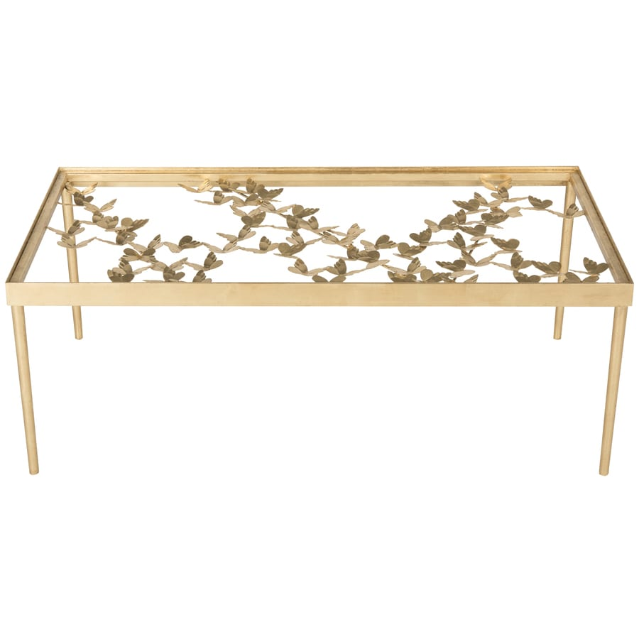 Safavieh Rosalia Glass Coffee Table