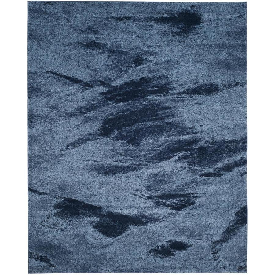 Safavieh Retro Azusa Light Blue/Blue 8-ft x 10-ft