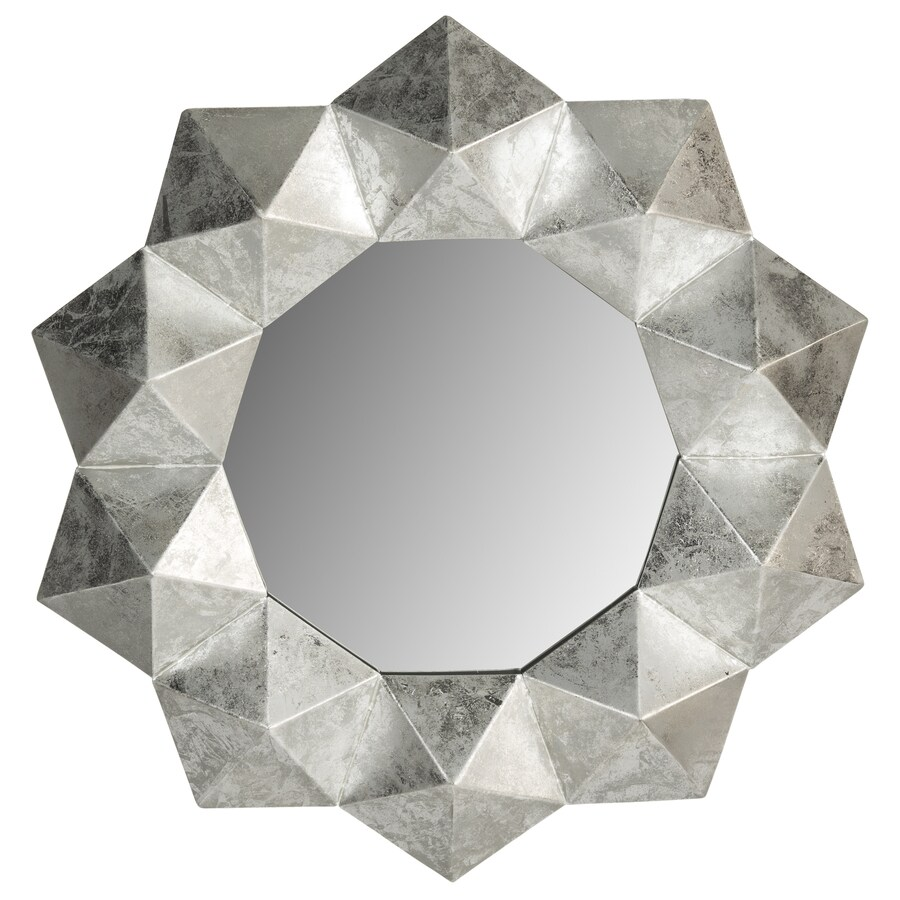 Safavieh Maritza Silver Polished Octagon Wall Mirror