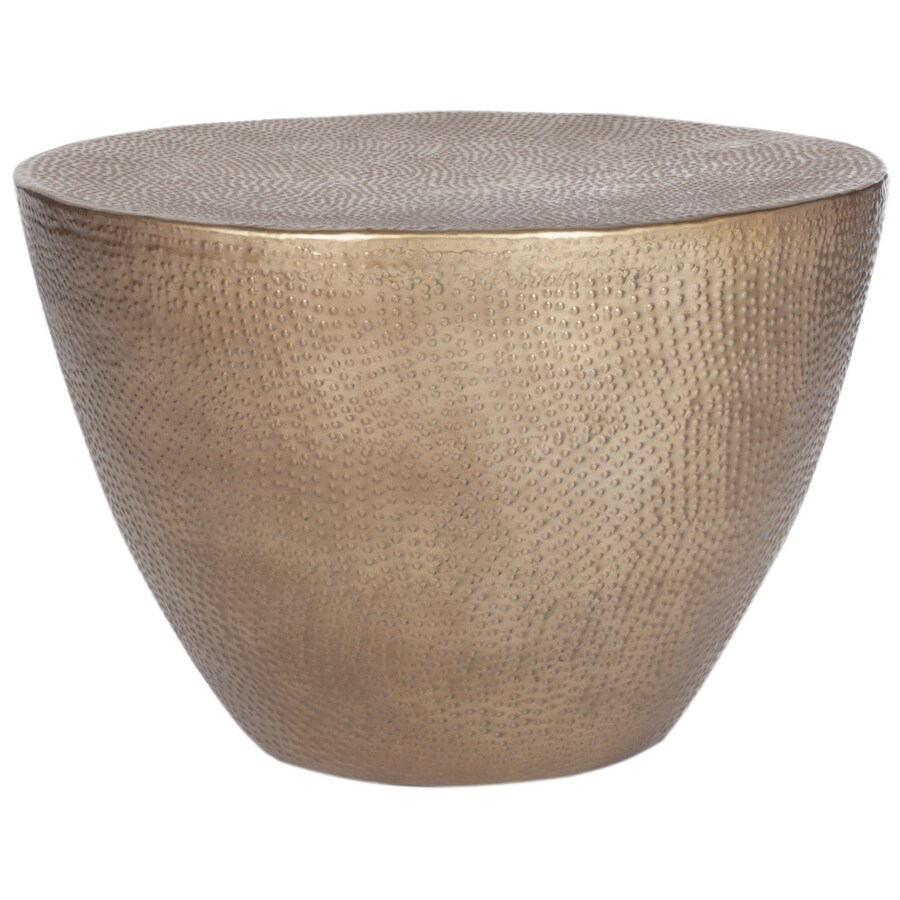 Shop Safavieh Myrtis Metal Round Coffee Table At Lowes.com
