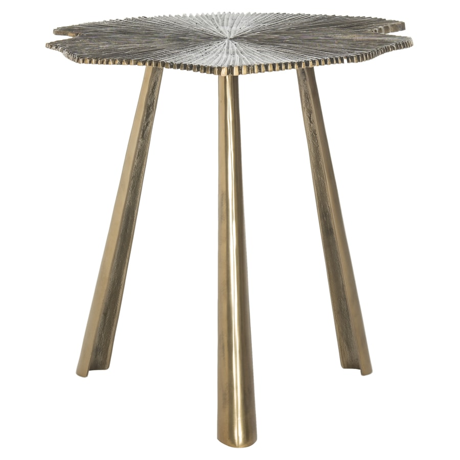 Safavieh Portia Brass End Table
