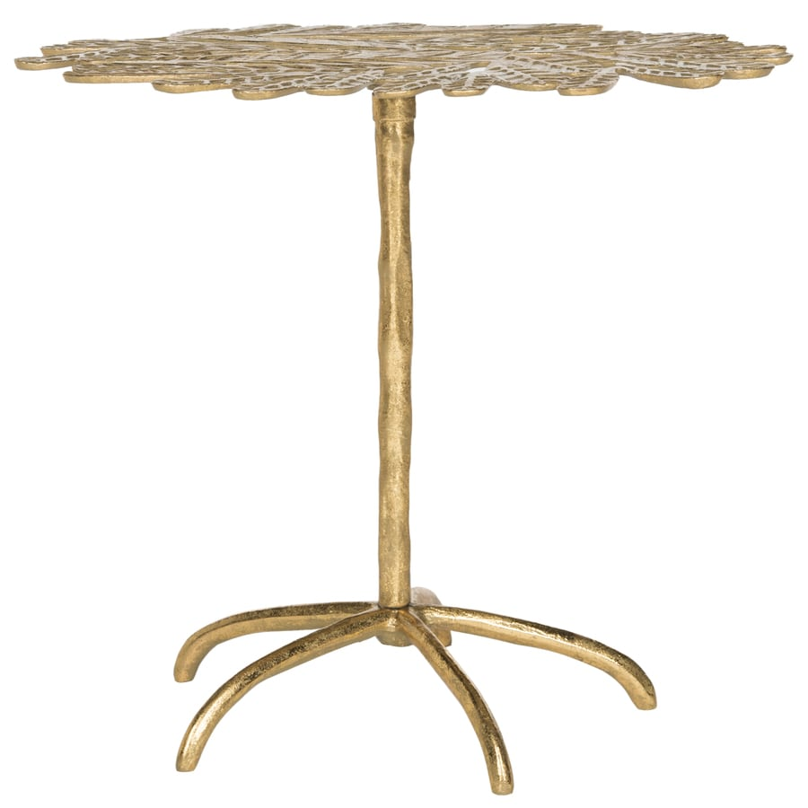 Safavieh Fox Gold Round End Table