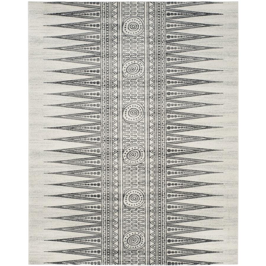 Safavieh Evoke Layla Ivory/Gray Indoor Oriental Area Rug (Common: 10 x 14; Actual: 10-ft W x 14-ft L)