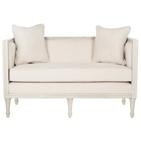 Peachy Loveseat Off White Couches Sofas Loveseats At Lowes Com Machost Co Dining Chair Design Ideas Machostcouk