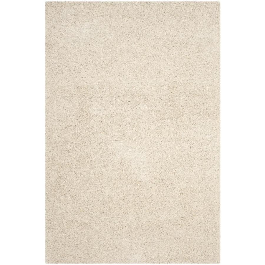Safavieh Laguna Shag Beige Indoor Area Rug Common 5 X 8
