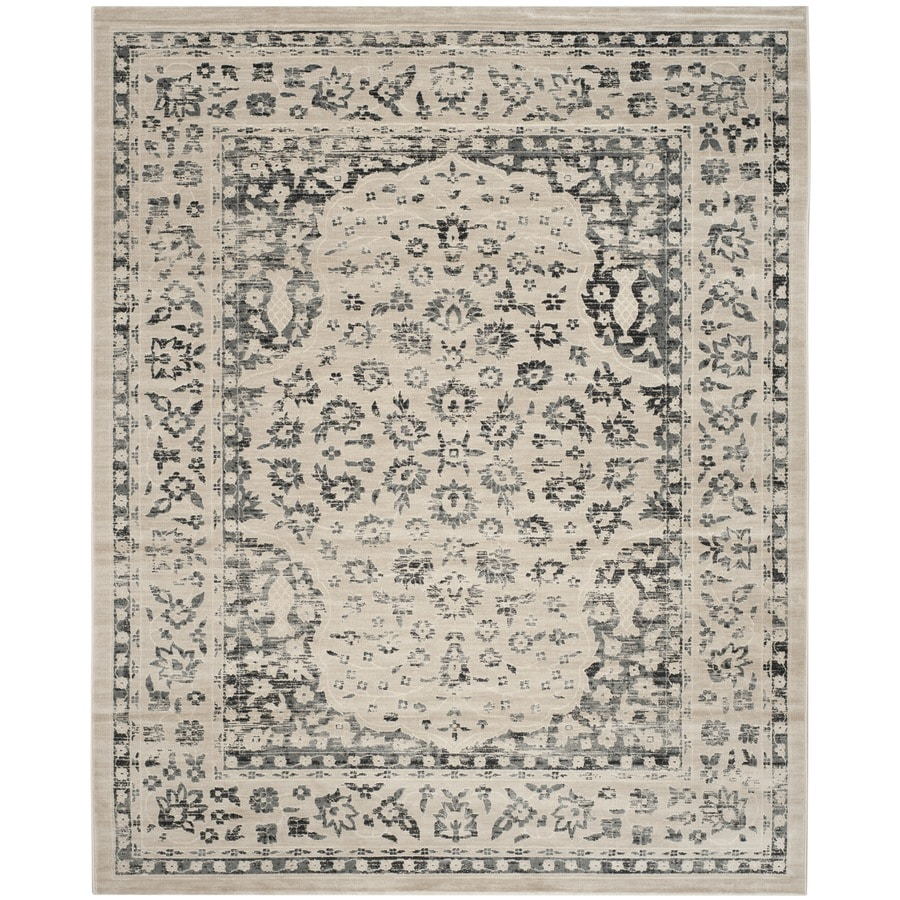 Safavieh Evoke Forst Beige/Blue Indoor Oriental Area Rug (Common: 8 x 10; Actual: 8-ft W x 10-ft L)