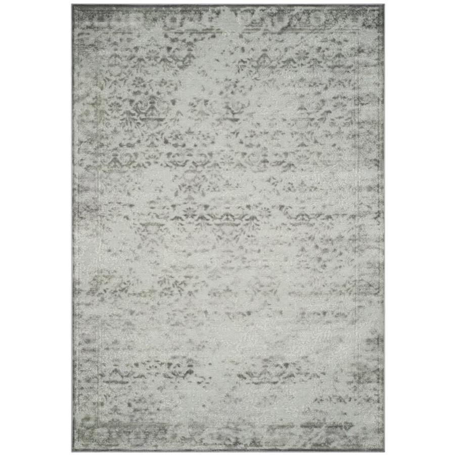 Safavieh Paradise Ryne Light Gray/Spruce Rectangular Indoor Machine-made Distressed Area Rug (Common: 8 x 11; Actual: 8-ft W x 11.167-ft L)