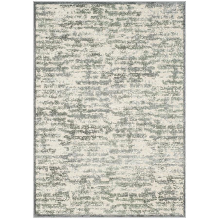 Safavieh Paradise Lyle Gray/Blue Indoor Distressed Area Rug (Common: 4 x 6; Actual: 4-ft W x 5.6-ft L)