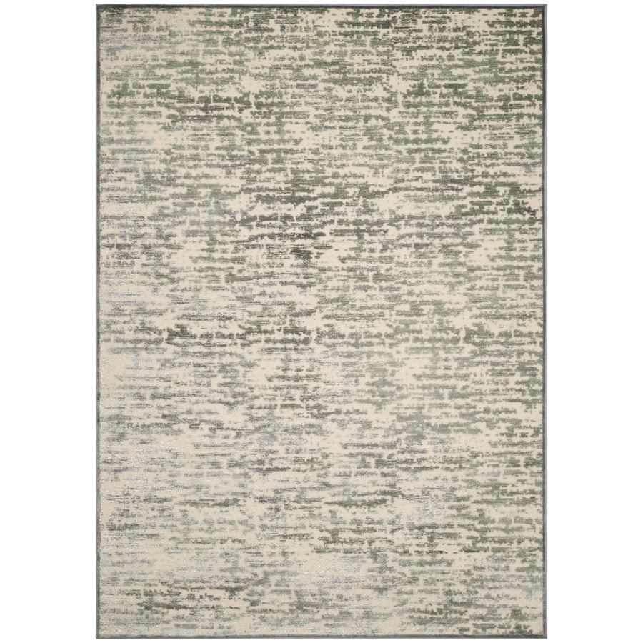 Safavieh Paradise Lyle Gray/Blue/Multi Rectangular Indoor Machine-made Distressed Area Rug (Common: 8 x 11; Actual: 8-ft W x 11.167-ft L)