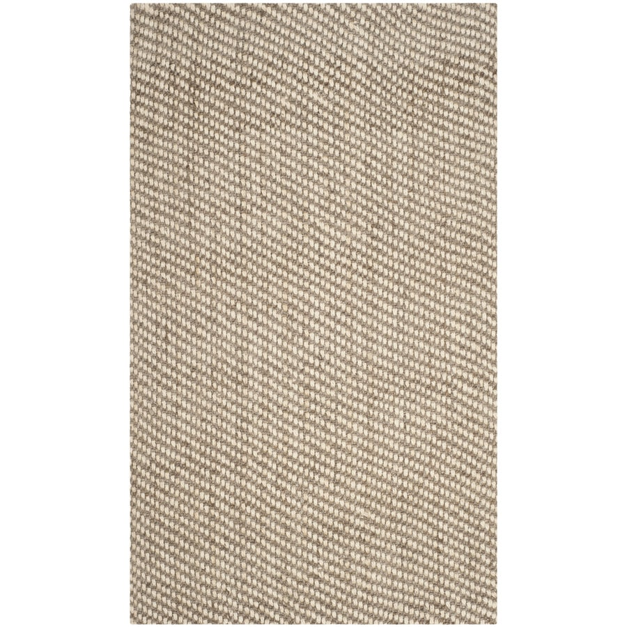 Safavieh Natural Fiber Westhampton Natural Rectangular Indoor Handcrafted Coastal Area Rug (Common: 6 x 9; Actual: 6-ft W x 9-ft L)