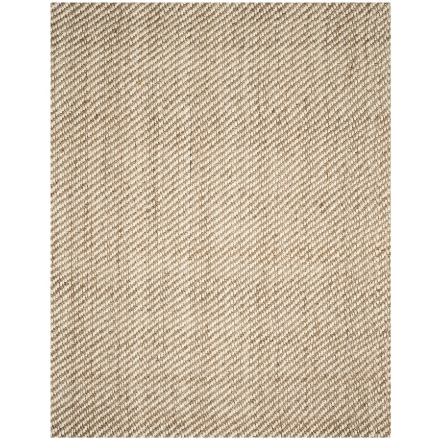 Safavieh Natural Fiber Westhampton Natural Indoor Handcrafted Coastal Area Rug (Common: 8 x 10; Actual: 8-ft W x 10-ft L)