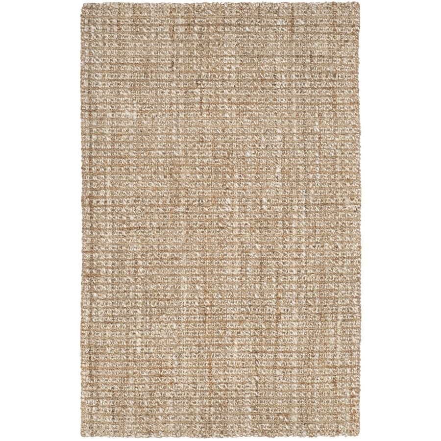 Safavieh Natural Fiber Brookville Natural Indoor Handcrafted Coastal Area Rug (Common: 4 x 6; Actual: 4-ft W x 6-ft L)