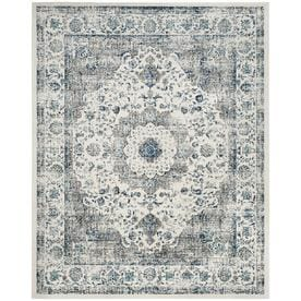 Safavieh Evoke Savoy Gray Ivory Indoor Oriental Area Rug Common 7 X 9