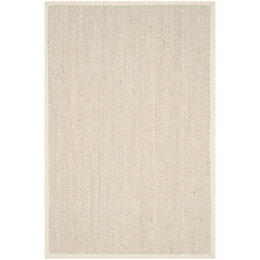 Safavieh Natural Fiber Pines Marble Beige Indoor Coastal