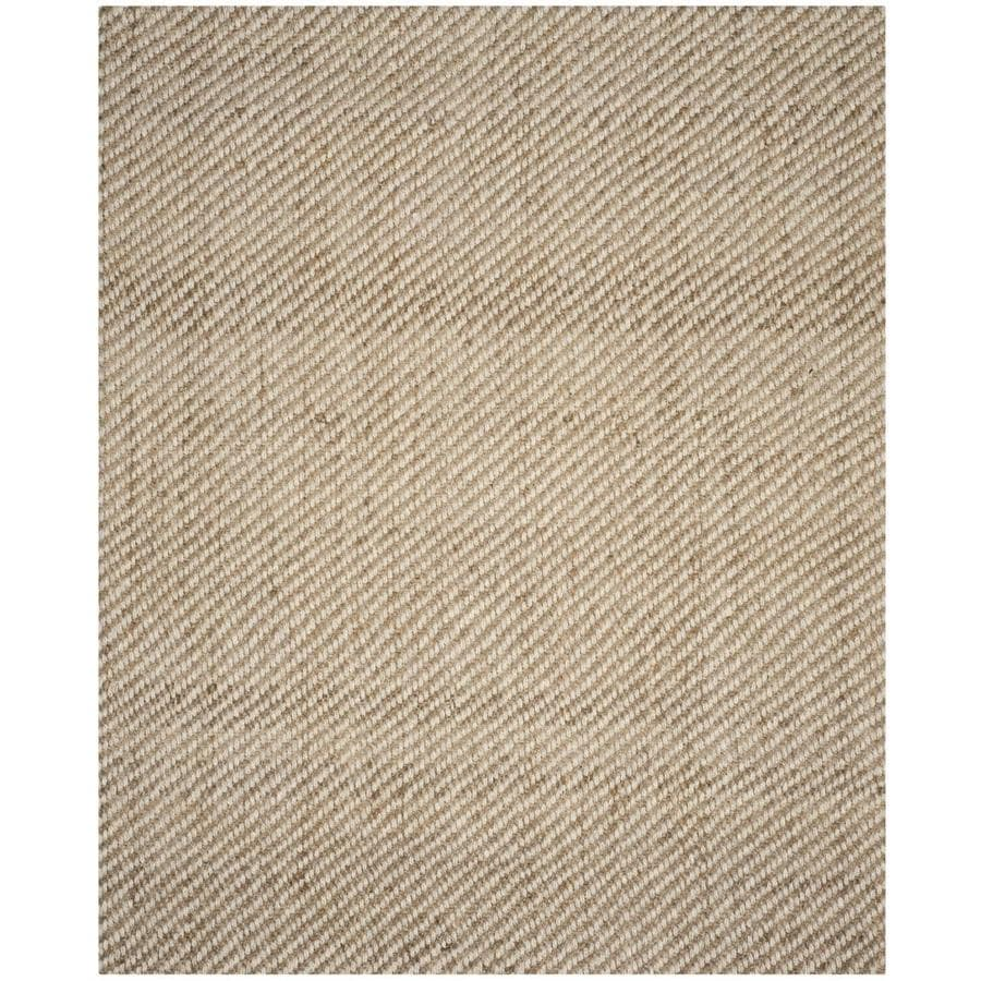 Safavieh Natural Fiber Nevis Natural Indoor Coastal Area Rug (Common: 9 x 12; Actual: 9-ft W x 12-ft L)