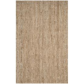 Safavieh Natural Fiber Bellport Ivory Indoor Handcrafted Coastal Area Rug Common 5