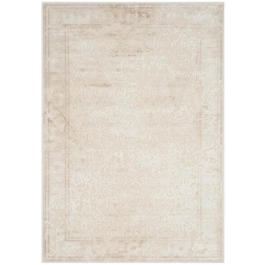 Safavieh Paradise Ryne Stone Rectangular Indoor Machine-made Distressed Area Rug (Common: 4 x 6; Actual: 4-ft W x 5.583-ft L)