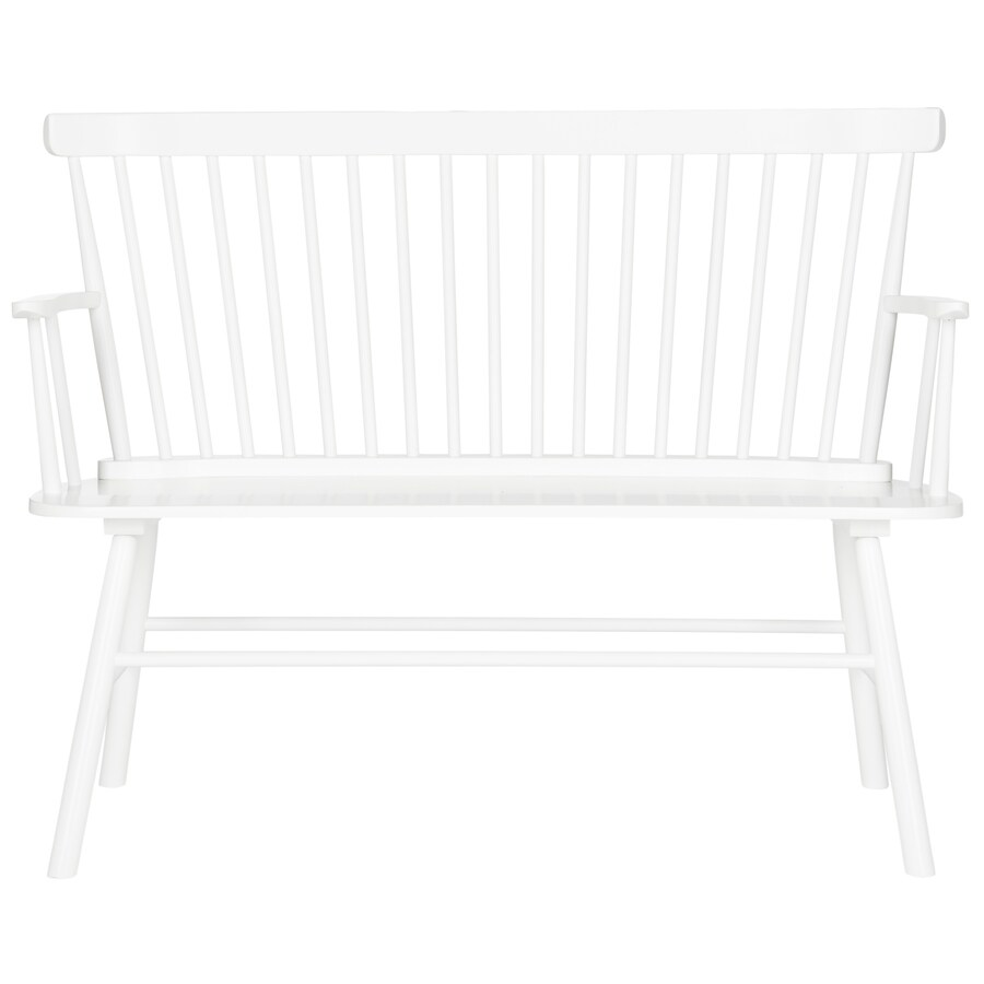 Safavieh Addison Transitional White Accent Bench