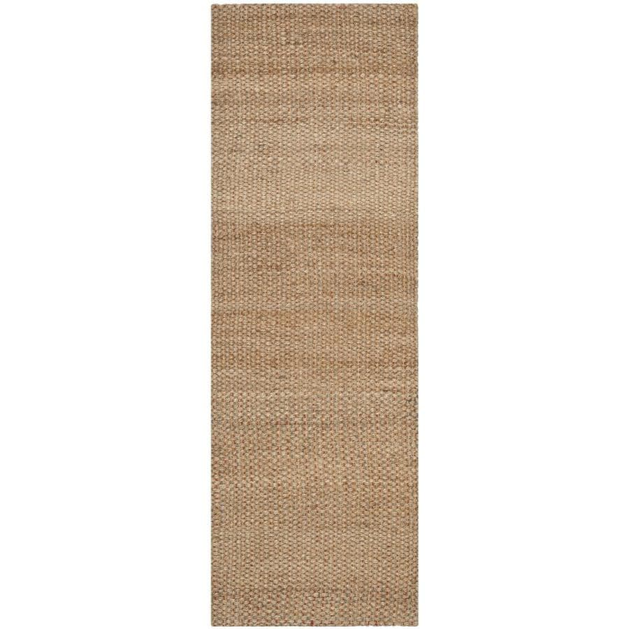 Safavieh Natural Fiber Islandia Natural Indoor Handcrafted Coastal Runner (Common: 2 x 10; Actual: 2.5-ft W x 10-ft L)