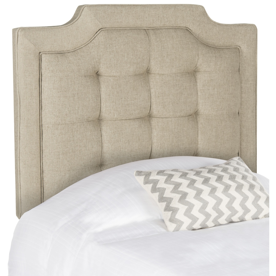 Safavieh Sapphire Hemp Twin Linen Upholstered Headboard