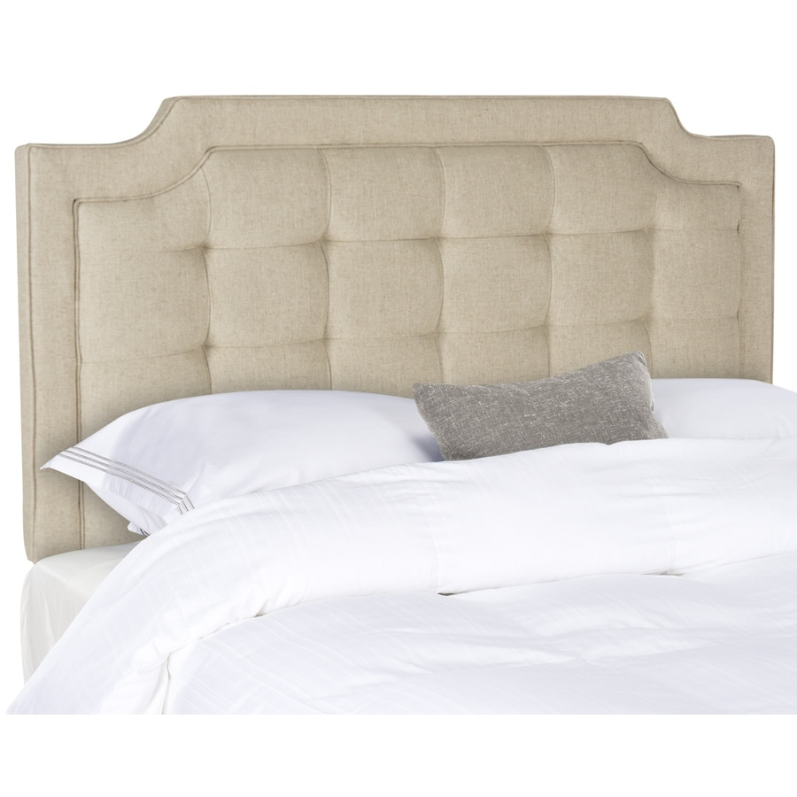 Safavieh Sapphire Hemp Queen Linen Upholstered Headboard