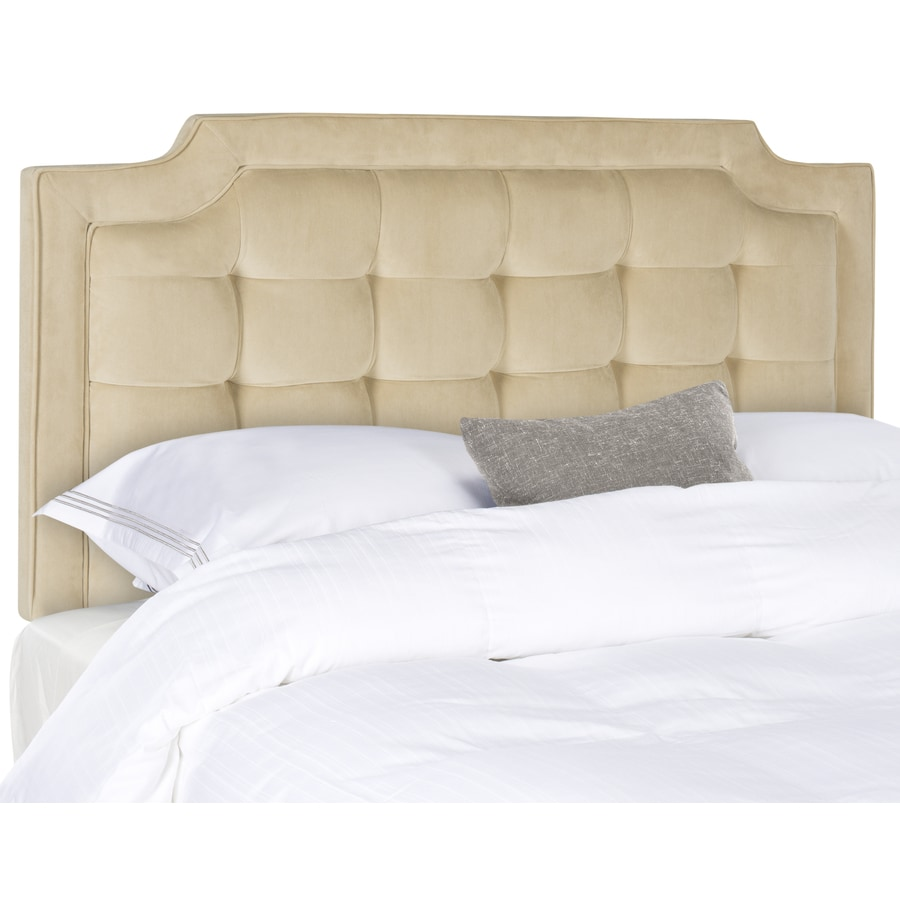 Safavieh Mercer Buckwheat King Synthetic Upholstered Headboard