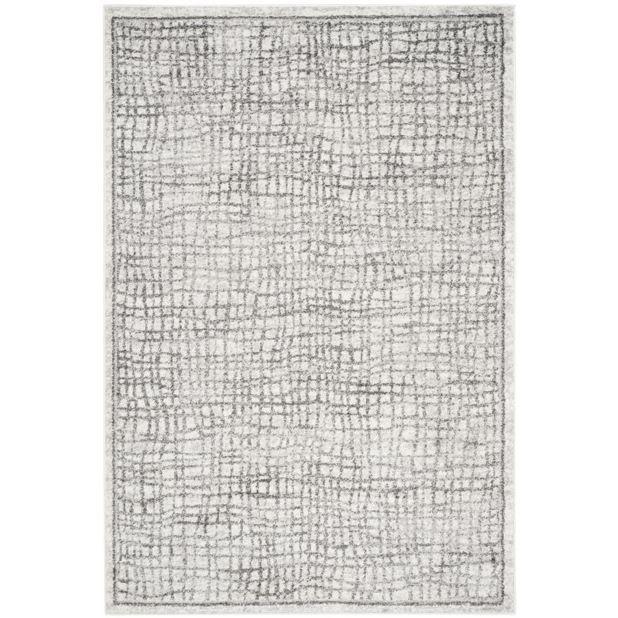 Safavieh Adirondack Shilo Silver/Ivory Rectangular Indoor