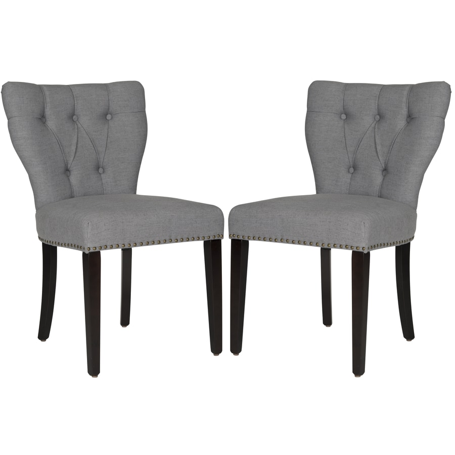 Safavieh Set of 2 Mercer Dark Blue Side Chairs