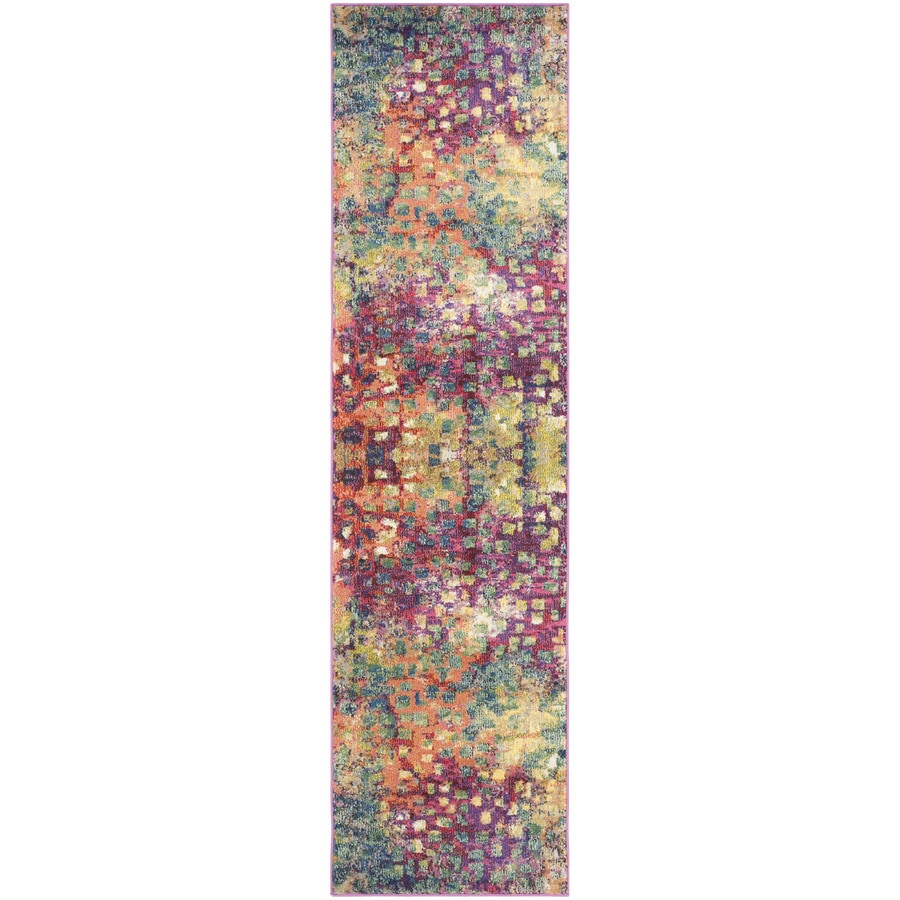 Safavieh Monaco Gogh Indoor Runner (Common: 2 x 22; Actual: 2.2-ft W x 22-ft L)