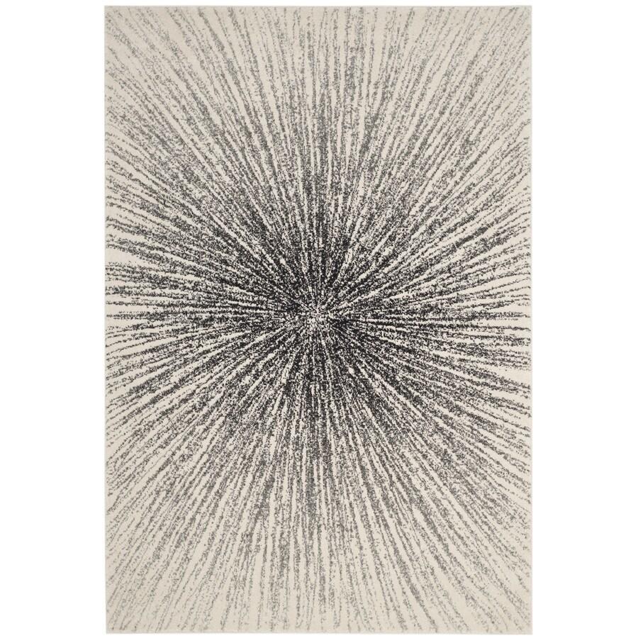 Safavieh Evoke Jude Black/Ivory Indoor Oriental Area Rug (Common: 10 x 14; Actual: 10-ft W x 14-ft L)