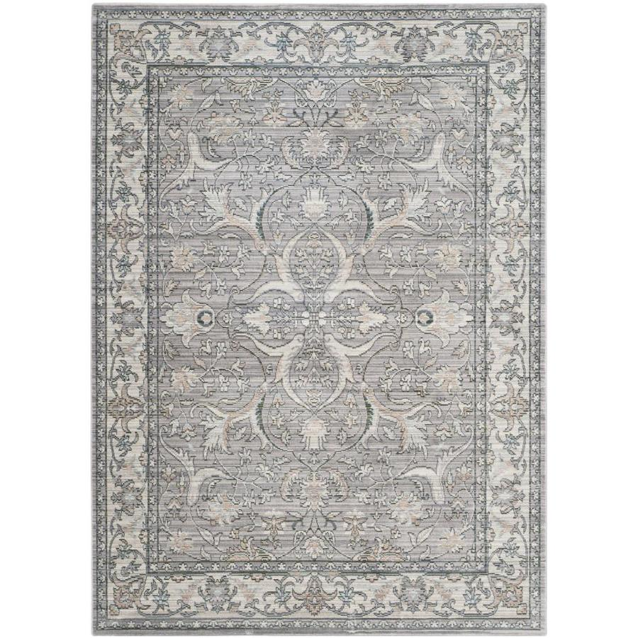 Safavieh Valencia Jiles Mauve/Cream Indoor Distressed Area Rug (Common: 6 x 9; Actual: 6-ft W x 9-ft L)