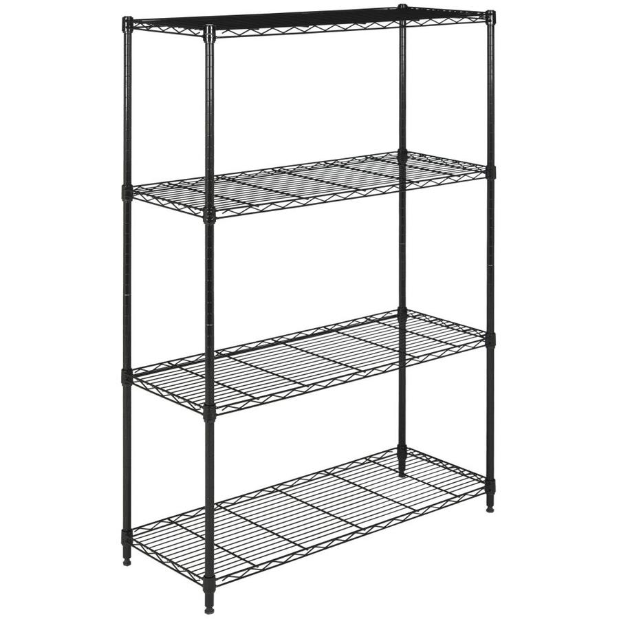 Shop Safavieh 53-in H x 35-in W x 13.4-in D Wire Freestanding ...