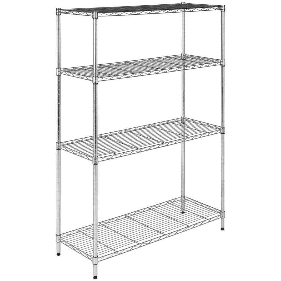 Shop Safavieh 53-in H x 35.7-in W x 14-in D Wire Freestanding ...