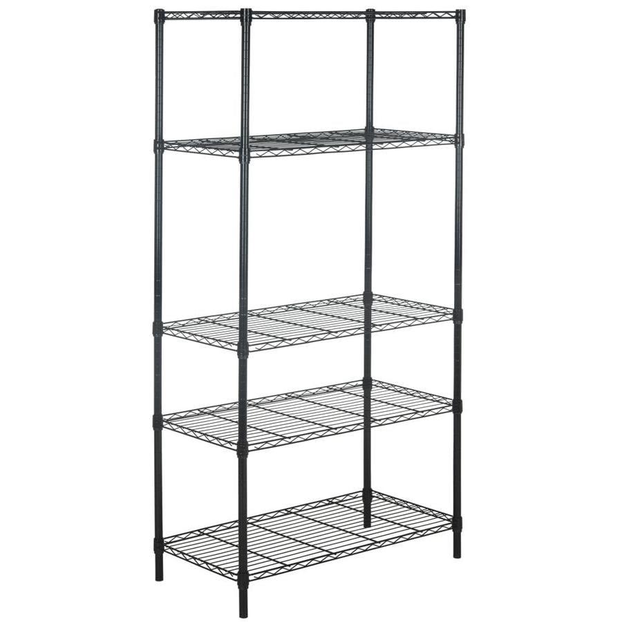 Shop Safavieh 71-in H x 35.7-in W x 18-in D Wire Freestanding ...