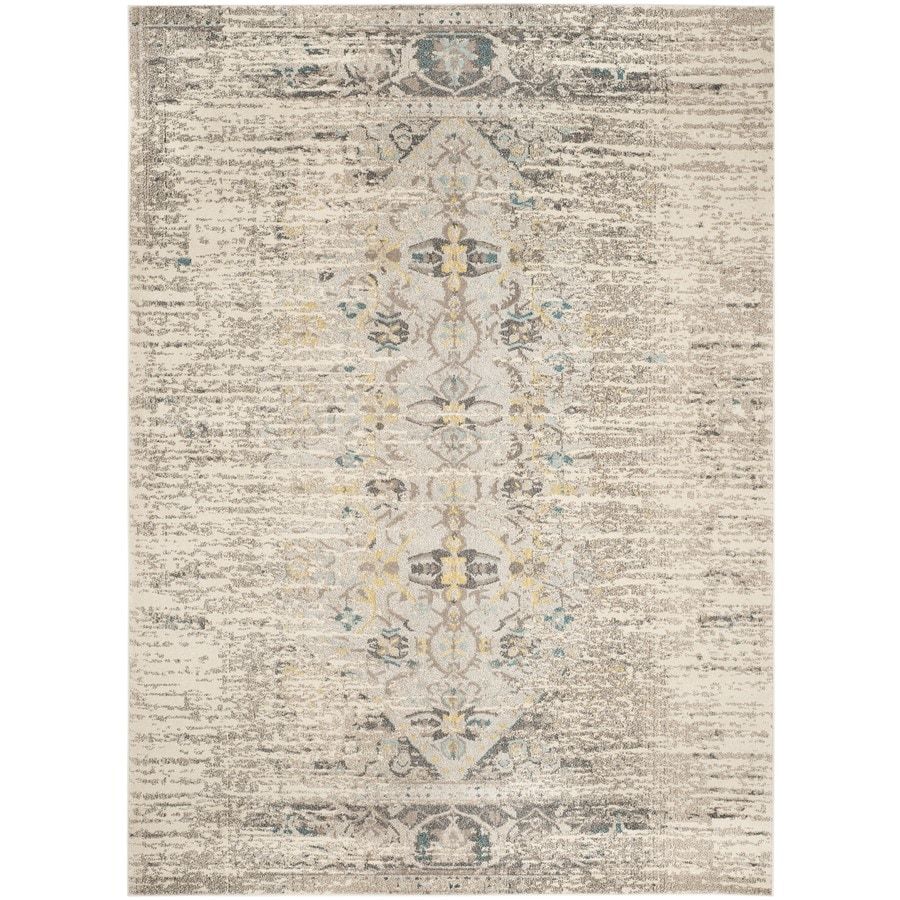 Safavieh Monaco Kimberly Gray Indoor Distressed Area Rug (Common: 8 x 11; Actual: 8-ft W x 11-ft L)