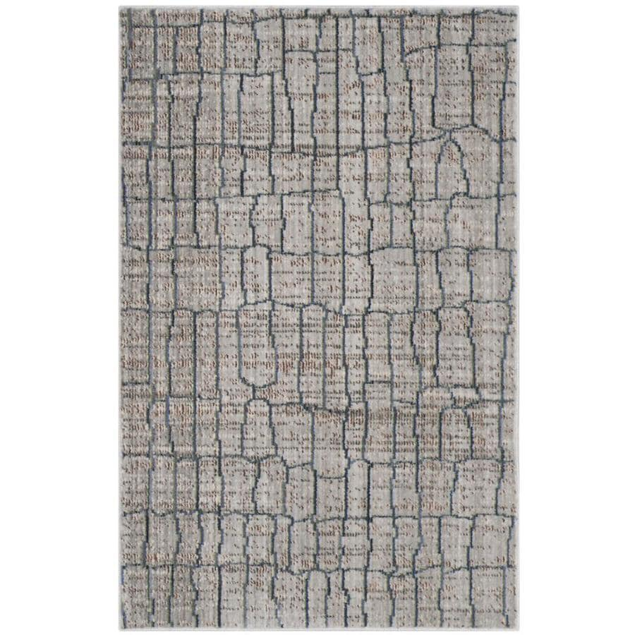 Safavieh Valencia Gretta Gray/Multi Rectangular Indoor Machine-made Distressed Throw Rug (Common: 2 x 3; Actual: 2-ft W x 3-ft L)