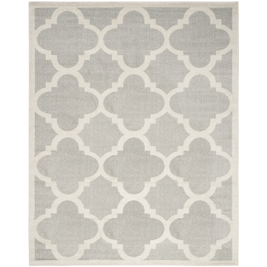 Safavieh Amherst Grey/Beige Rectangular Indoor/Outdoor Machine-Made Area Rug