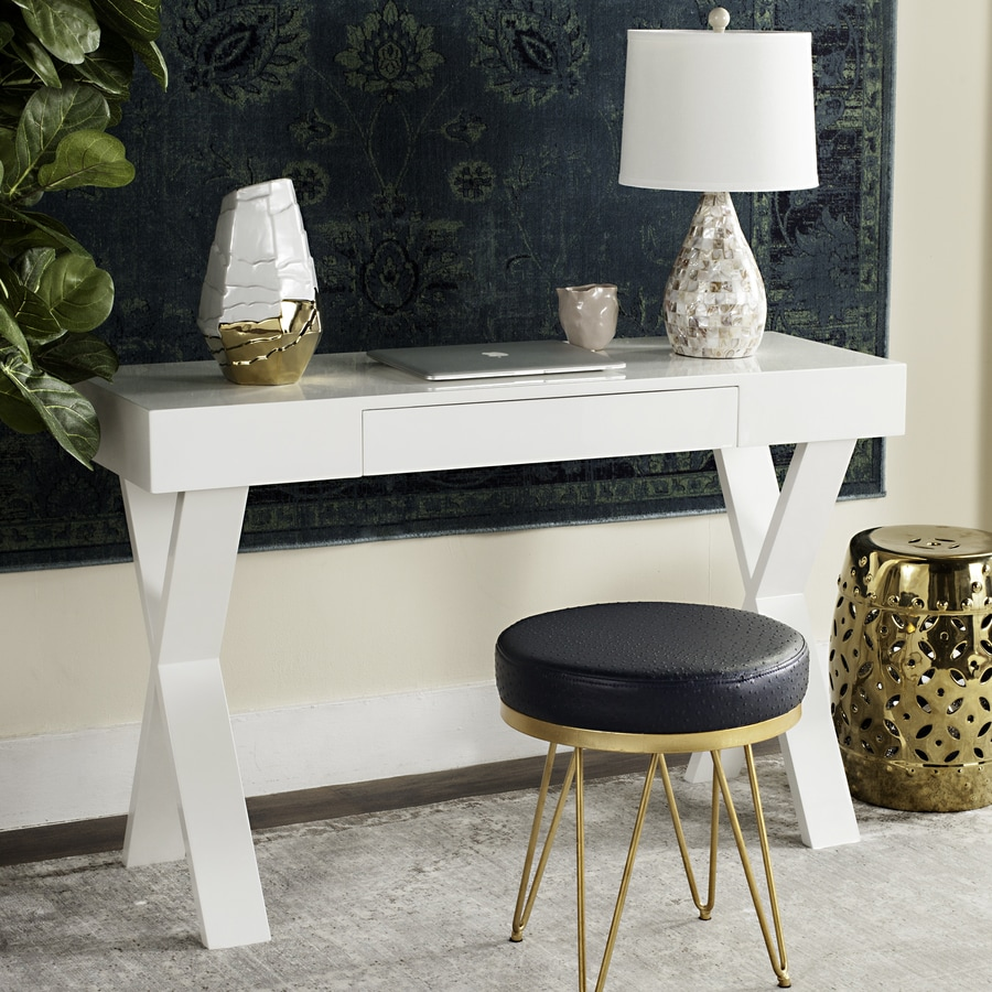Safavieh Alessia Contemporary White Writing Desk