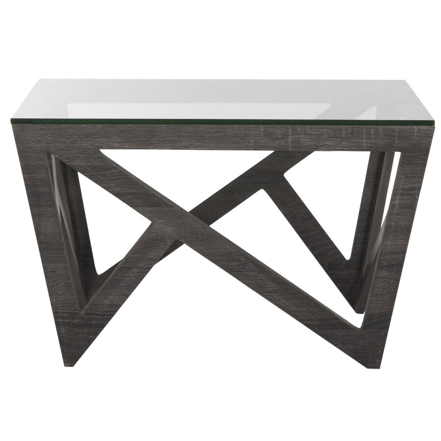 Safavieh Fox Dark Grey Square Coffee Table