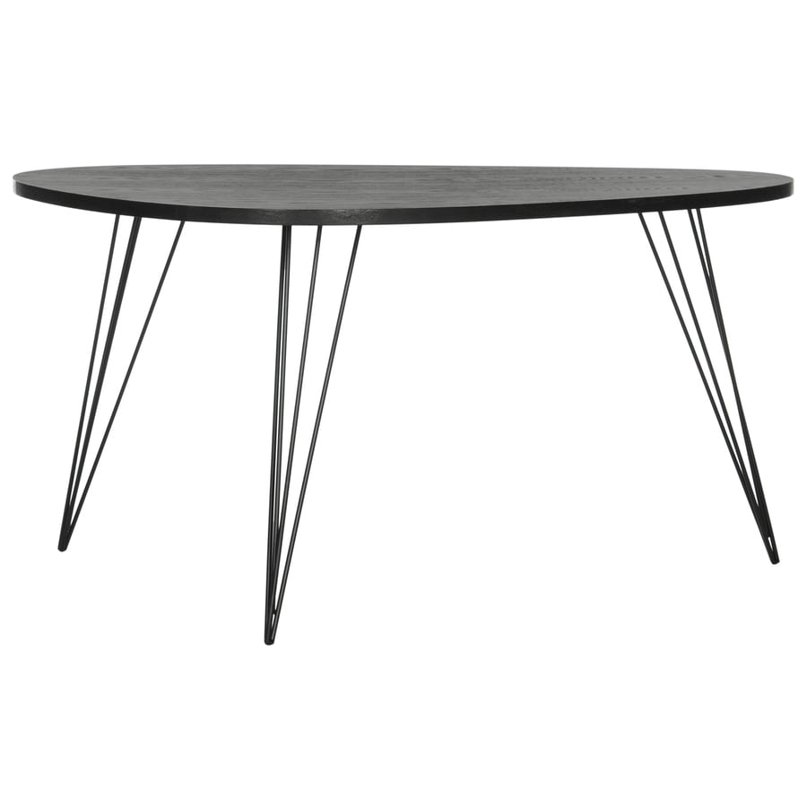 Shop Safavieh Rocco Black Triangle Coffee Table At Lowescom - Black triangle end table