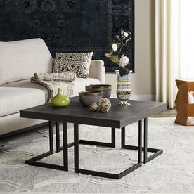 d981c3f1cebc8 Safavieh Amalya Dark Gray Black Coffee Table