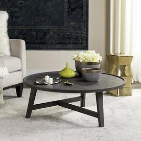 Safavieh Malone Dark Gray Round Coffee Table
