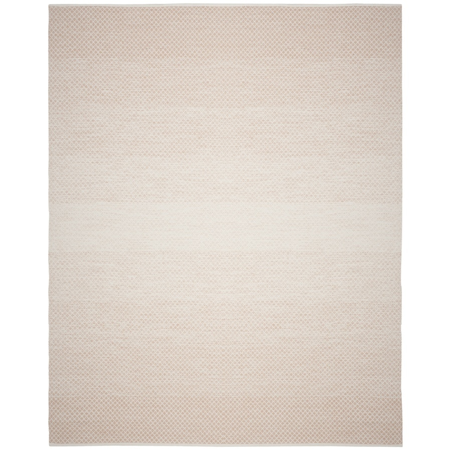 Safavieh Montauk Mindil Beige/Ivory Rectangular Indoor Handcrafted Coastal Area Rug (Common: 6 x 9; Actual: 6-ft W x 9-ft L)